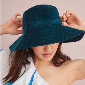 Anthropologie Velvet Hat
